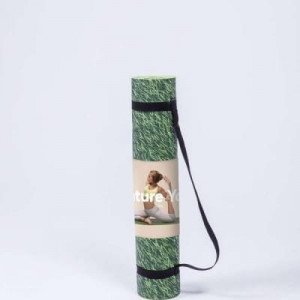 Tapis de Yoga Nature Pelouse transportable
