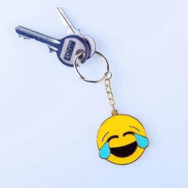 Porte-Clés Emoji Happy