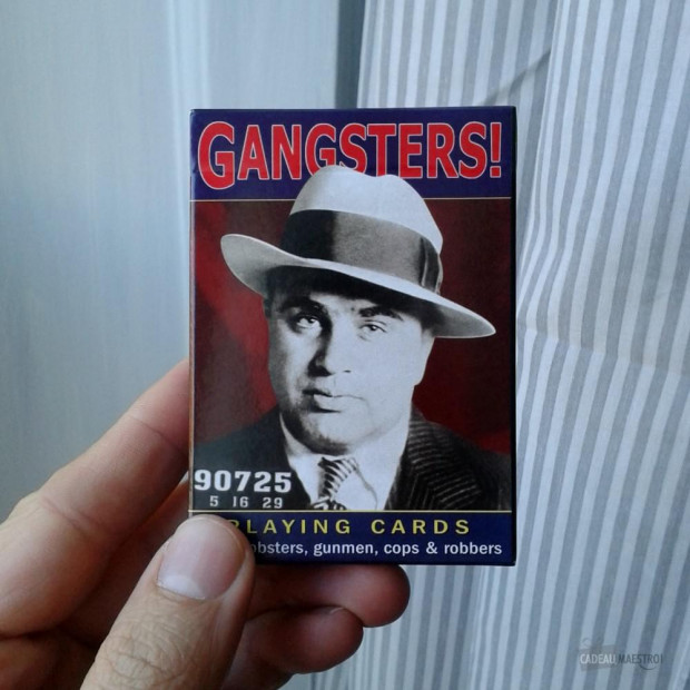 Jeu de Cartes Gangsters (x54) Packaging