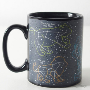 Mug 6 Constellations Thermoréactif ours