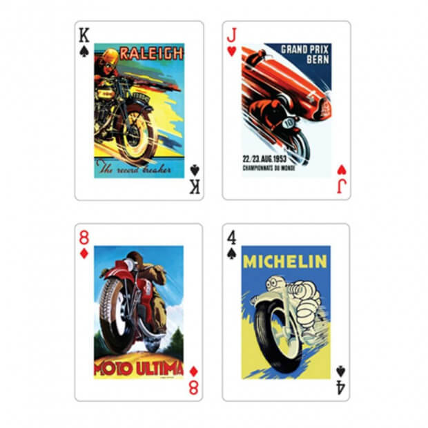 Jeu de Cartes Motos (x54) Michelin