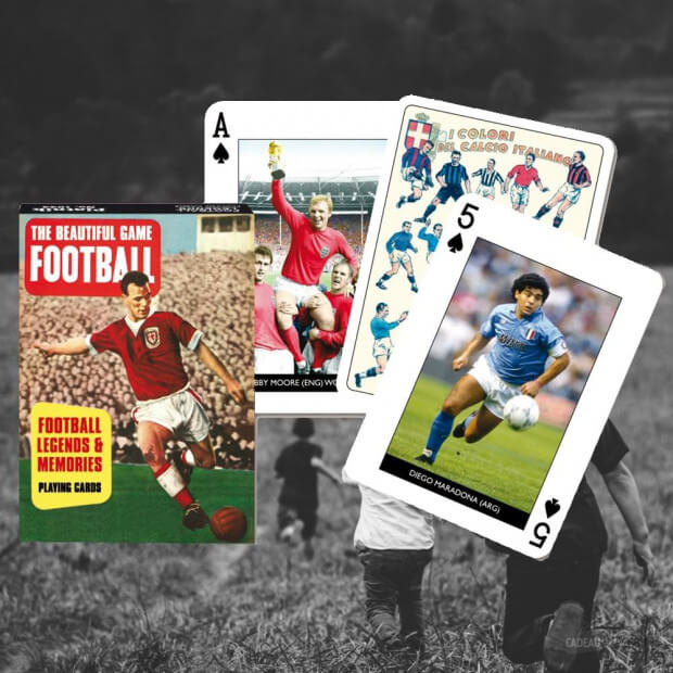 Jeu de Cartes Football (x54) Légendes