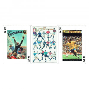 Jeu de Cartes Football (x54) Rétro