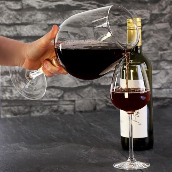 verre a vin geant