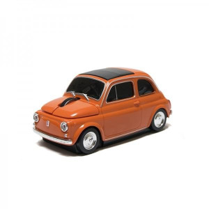 Souris Optique Fiat 500 orange