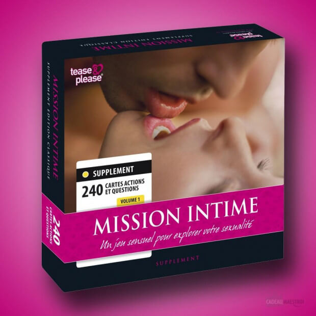 Jeu Mission Intime - Extension