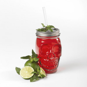 Mélange Mojito Pirate Mason Jar Cocktail Succulent