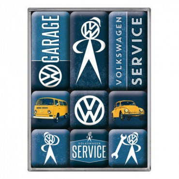 Set Magnets Volkswagen (x9)