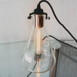 Lampe Fiole d'Erlenmeyer Chimie