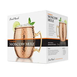 Mug Cocktail Moscow Mule Cuivré Packaging