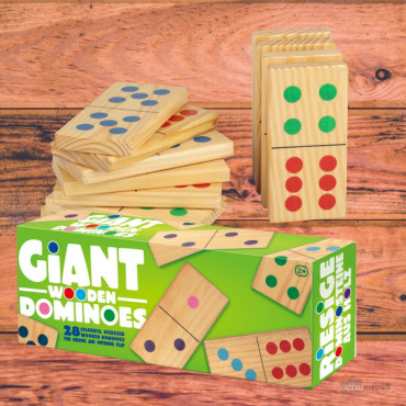 Jeu de Dominos Géants (x28)