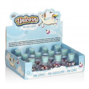 Mini Gommes Licorne (x12) Display Rigolo