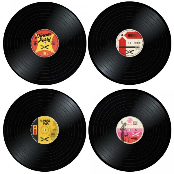 sets de table vinyle (x4) - cadeau maestro