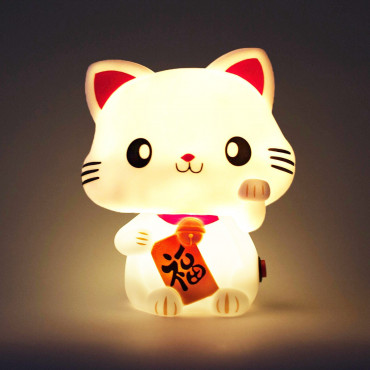 Veilleuse Lucky Cat