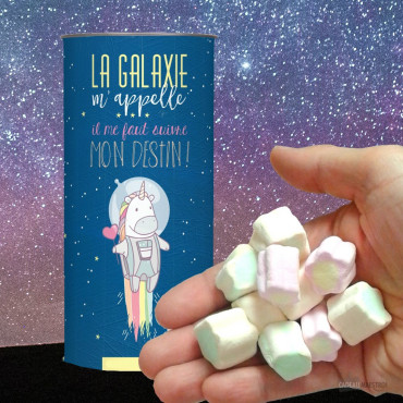 "Guimauves Licorne ""La Galaxie m'Appelle"""