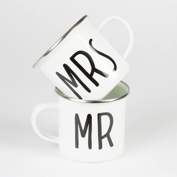 Mug Mr ou Mrs couple