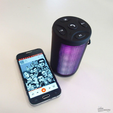 Mini Haut-Parleur Bluetooth LightFlow
