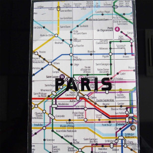 Magnets Plan de Métro Paris (x50) Paris