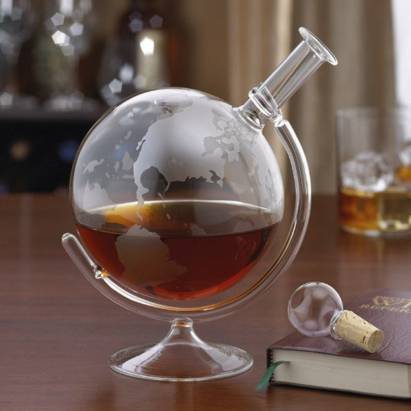 carafe globe en verre bar originale cadeau maestro. Black Bedroom Furniture Sets. Home Design Ideas