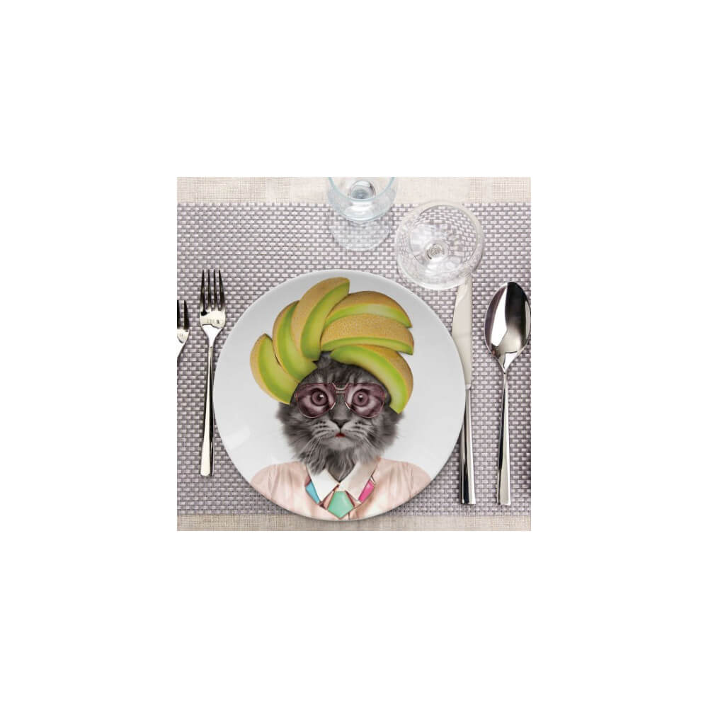 Assiette Wild Dining Courtney Chat animal