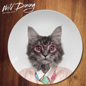 Assiette Wild Dining Courtney Chat déco