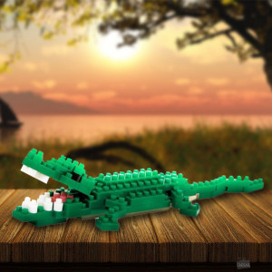 Nanoblock Crocodile Animal