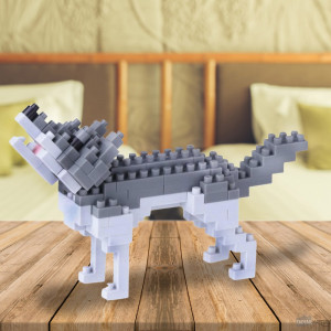 Nanoblock Loup Animal