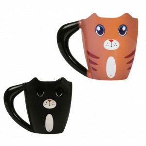 Mug Chat Thermoréactif