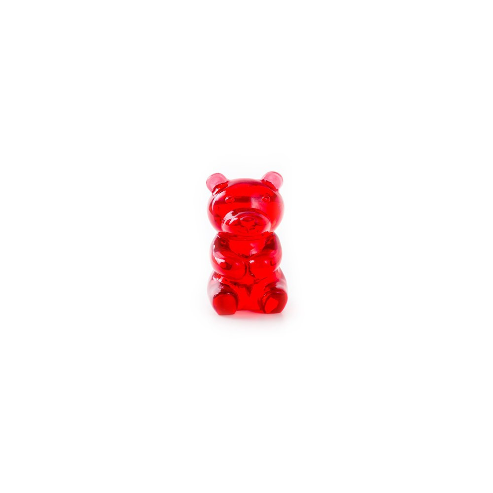 Repose-Lunettes Nounours rouge