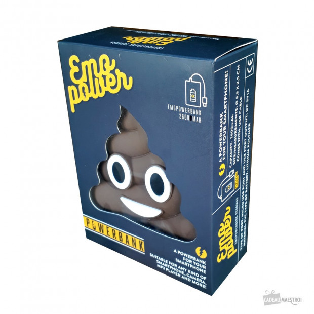 Batterie Externe Emoji Mr Popo Packaging