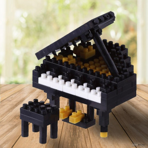 Nanoblock Piano à Queue Instrument