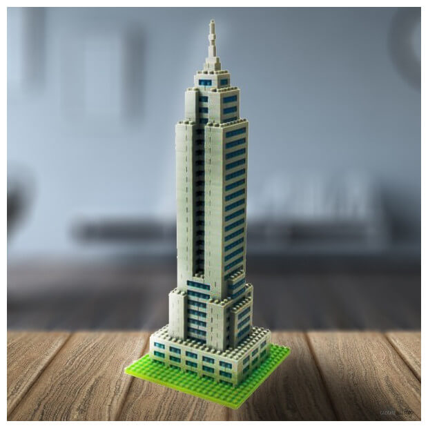 Nanoblock Tour Empire State Building New York