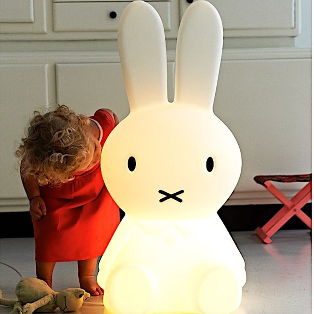 Lampe Lapin Miffy XL bisou