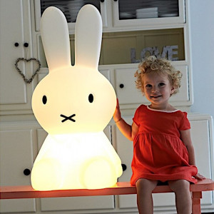 lampe lapin miffy xl cadeau maestro. Black Bedroom Furniture Sets. Home Design Ideas