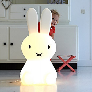 Lampe Lapin Miffy XL cache cache