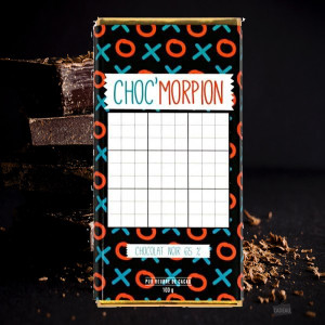 Tablette de Chocolat Morpion