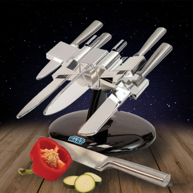 Porte couteaux x wing star wars cadeau maestro for Decoration porte star wars