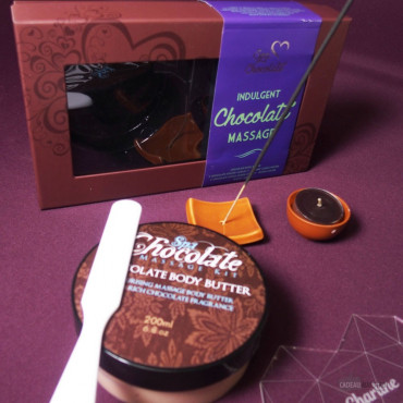 Coffret Massage au Chocolat