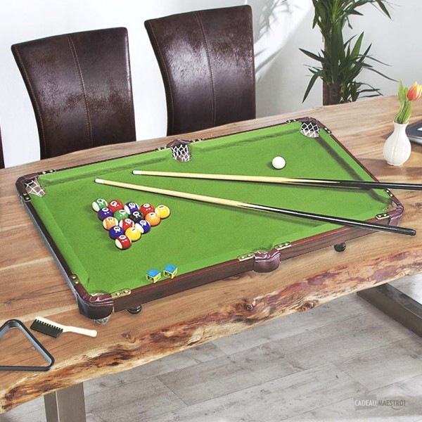 billard de table pool with table billard. Black Bedroom Furniture Sets. Home Design Ideas