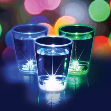 Verres à Shooters LED Flashing (x3)