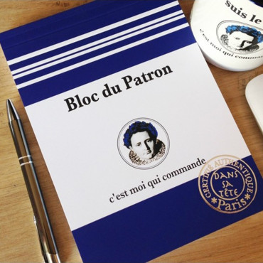 Bloc-Notes Je suis le patron A5
