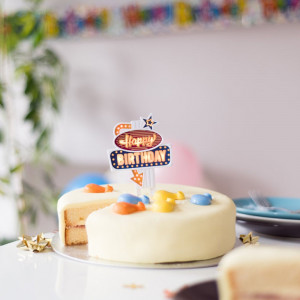 Cake Topper Lumineux
