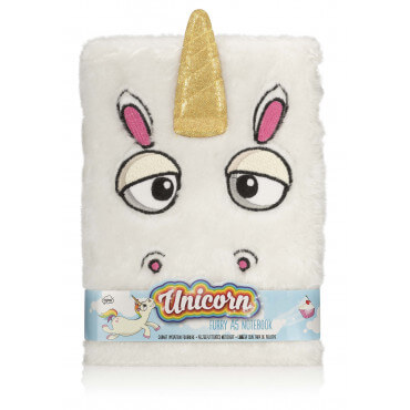Bloc-Notes Peluche Licorne