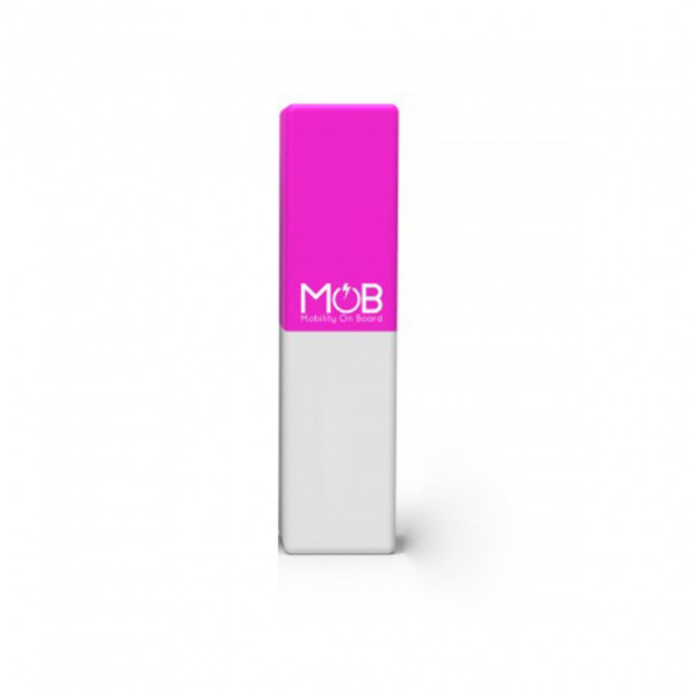 Chargeur MobCube 2600 rose