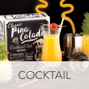 Set Cocktail Piña Colada