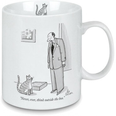 Mug New-Yorker Outside The Box