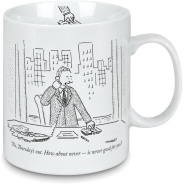 Mug New-Yorker How About Never
