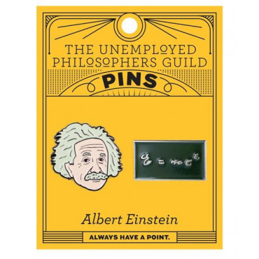 Pin's Albert Einstein (x2)