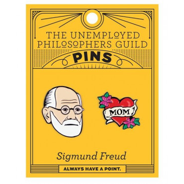 Pin's Sigmund Freud (x2)