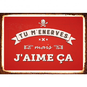 "Carte ""Tu m'Énerves"""